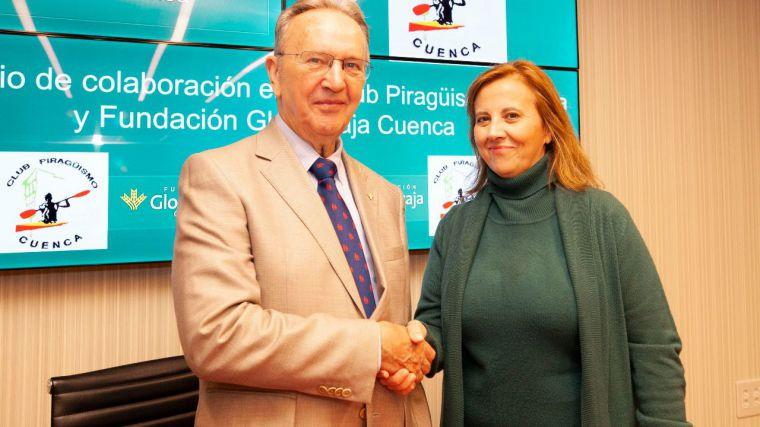 Globalcaja renueva el convenio de colaboración con el Club Piragüismo Cuenca Con Carácter
