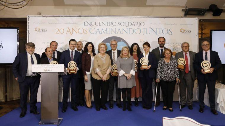 """La Fundación Mayores celebra su 20 aniversario apelando a la implicación de toda la sociedad para """"seguir caminando juntos"""""""