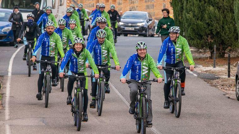 García-Page participa en la marcha ciclista 'Moving for Climate Now' en una apuesta por la movilidad sostenible y el respaldo de la Administración regional en la lucha contra el cabio climático