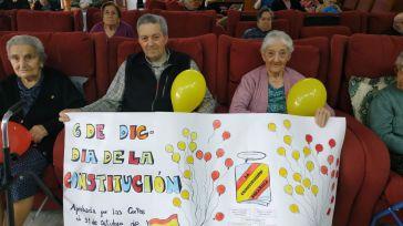 ACESCAM celebra en la mejor compañía el Día de la Constitución leyendo la Carta Magna