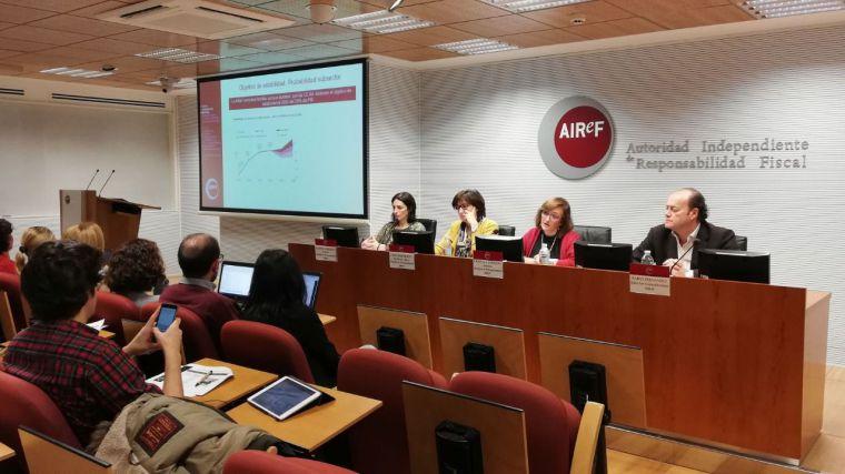 La AIReF pide reformas en la financiación y el gasto de CLM para que pueda cumplir con el déficit