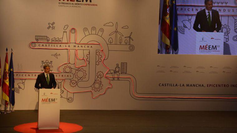 Álvaro Gutiérrez destaca las propuestas de futuro, generación de empleo y riqueza del empresariado de Castilla-La Mancha