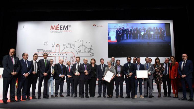 El Gobierno de Castilla-La Mancha reconoce el valor y el trabajo de doce empresas regionales en la entrega de sus cuartos Premios al Mérito Empresarial