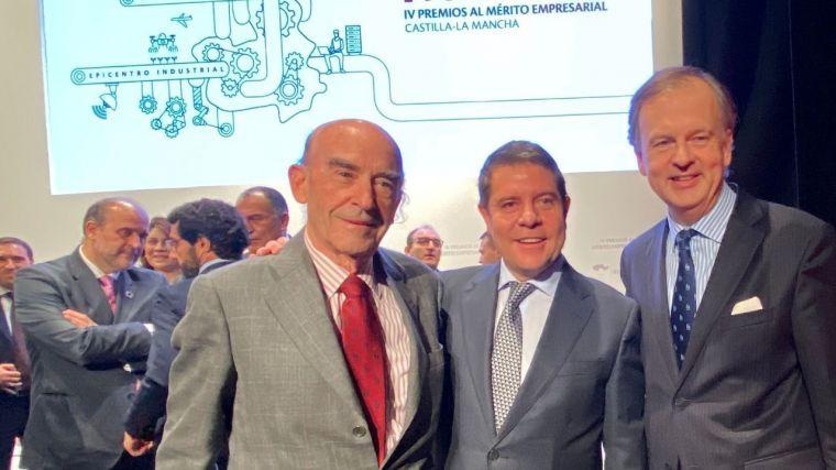 Globalcaja, en los Premios al Mérito Empresarial