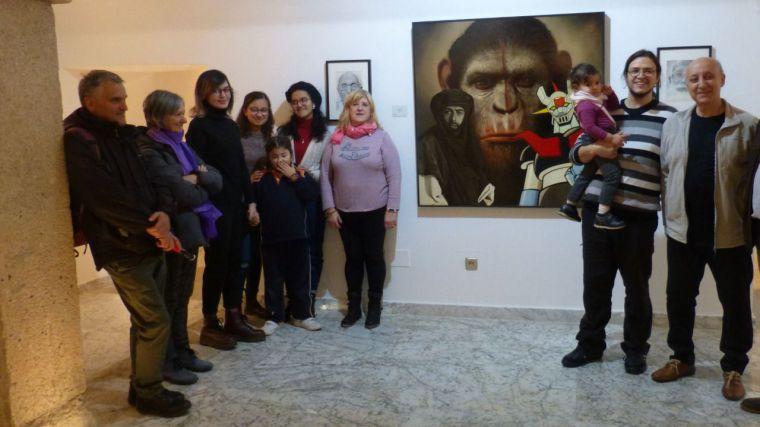 El Centro Cultural San Clemente acoge una exposición de 54 obras del toledano Julián Orgaz