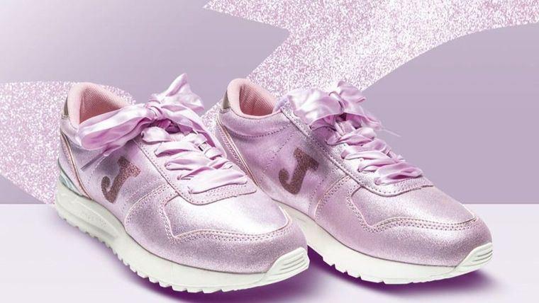 Las nuevas zapatillas de Joma Sports en colaboración con Swarovski.