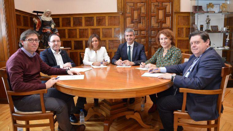 El gobierno de Gutiérrez, comprometido con los municipios del área metropolitana de Toledo