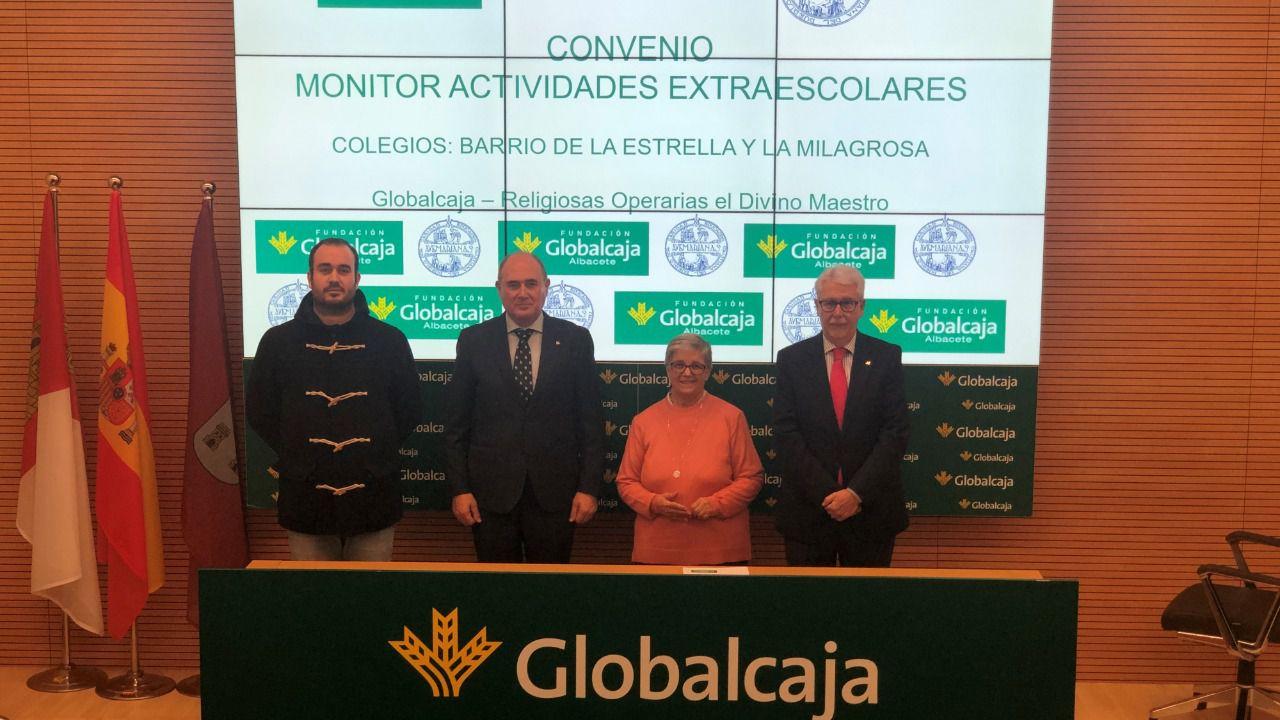 Renovado el convenio de la Fundación Globalcaja Albacete con 'Las Avemarianas'