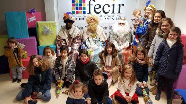 FECIR recibe la visita de los Reyes Magos