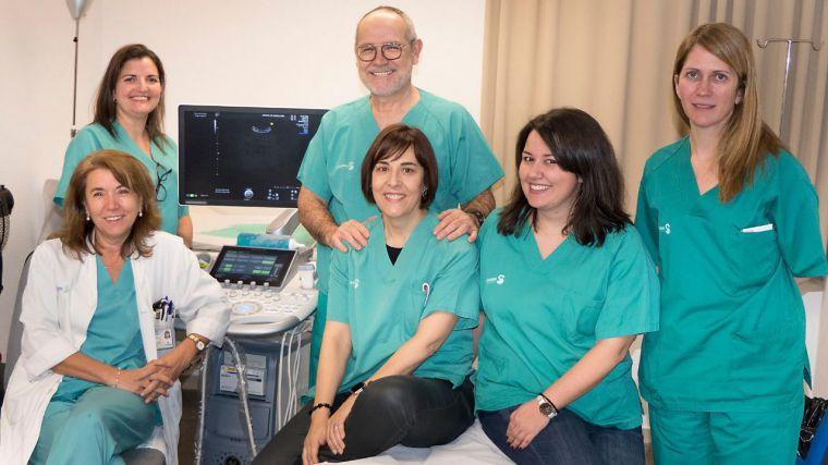 Varios servicios del Hospital de Guadalajara realizan una intervención pionera en un parto de alto riesgo