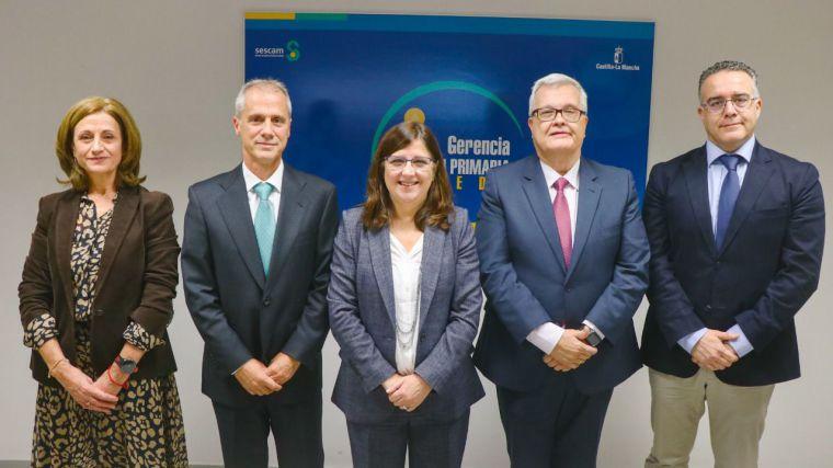 El doctor Javier Rodríguez Alcalá toma posesión como nuevo gerente de Atención Primaria de Toledo