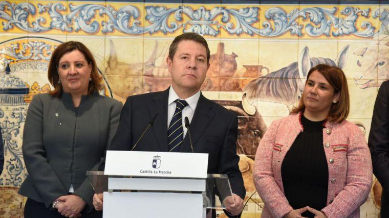 """García-Page invita a los regantes y dirigentes de Levante a rebajar el tono """"porque el ruido no sustituye al agua"""" en la cabecera del Tajo"""