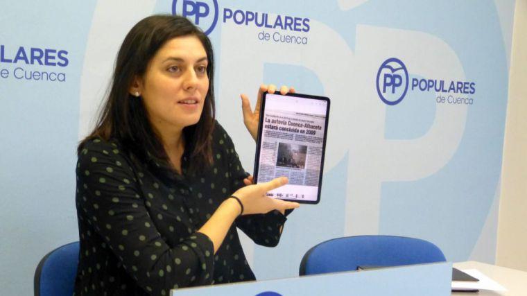 La diputada nacional del PP, Beatriz Jiménez, lamenta el aumento de un 64% en gastos de personal del Gobierno de Sánchez