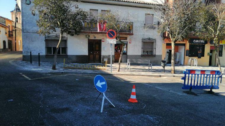 En marcha las obras de la calle Jerónimo Salcedo de Carranque