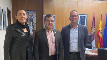 El alcalde de Numancia de La Sagra se reúne con el subdelegado del Gobierno