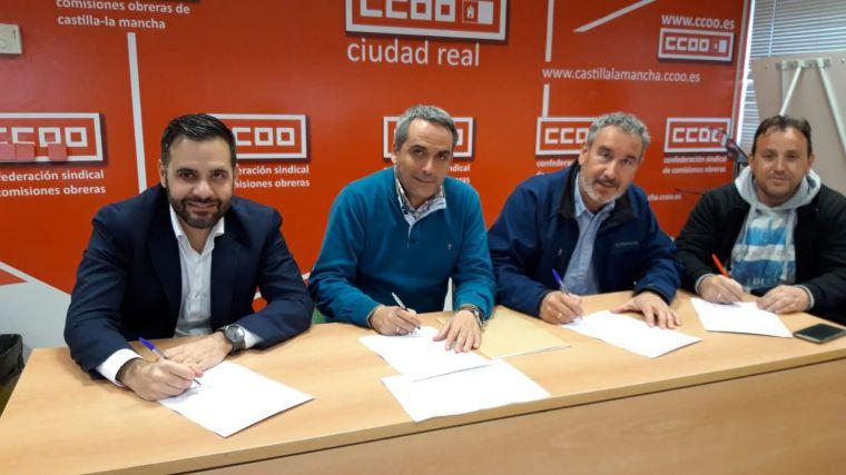 Firmadas las tablas salariales del sector de la construcción de la provincia de Ciudad Real para 2020