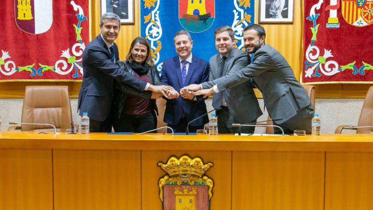 Álvaro Gutiérrez señala que la plataforma logística de Talavera estimulará el desarrollo del conjunto de la provincia