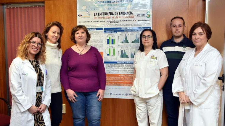 Enfermeras del Servicio de Farmacia del Hospital de Talavera, premiadas en el III Congreso Internacional de Investigación, Formación y Desarrollo Enfermero