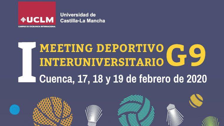 La UCLM acogerá en su Campus de Cuenca el I Meeting Deportivo Interuniversitario G9