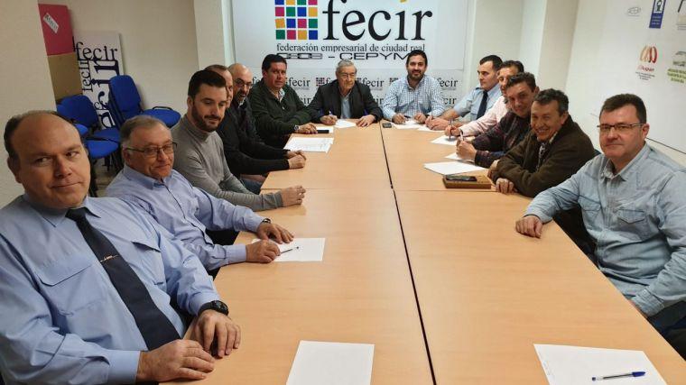 Firmado el convenio colectivo provincial de transporte de viajeros por carretera de Ciudad Real