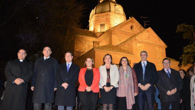 Álvaro Gutiérrez felicita a Talavera por engrandecer un monumento emblemático para la ciudad como es la Basílica del Prado