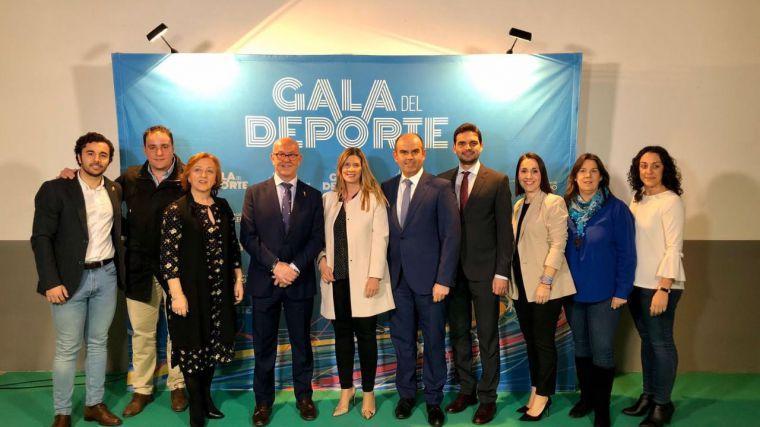 Agudo muestra el apoyo incondicional del PP de Paco Núñez al deporte y deportistas de Castilla-La Mancha