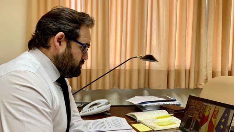 Núñez solicita la comparecencia del presidente en las Cortes regionales para que explique lagestión de la crisis del COVID-19