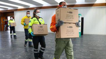 Castilla-La Mancha ha multiplicado por cuatro el número de respiradores desde el inicio de la pandemia