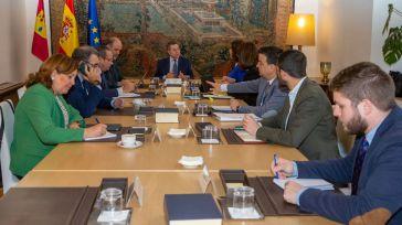 Primera reunión del Consejo de Gobierno extraordinario de la JCCM con motivo de la crisis del coronavirus.