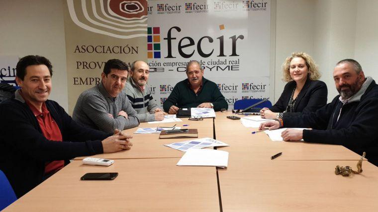 Junta de la Asociación de la Madera de FECIR