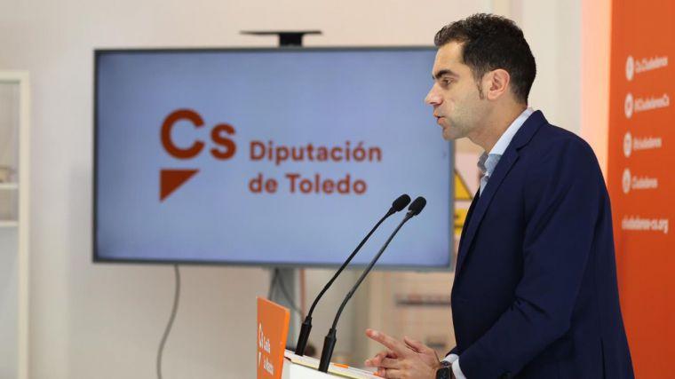 Cs Toledo propone a la Diputación un Pacto para la Reconstrucción de la Provincia con sindicatos, empresarios y miembros de la sociedad civil