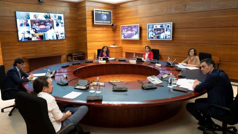 Reunión del Consejo de Ministros el pasado día 8 de mayo.