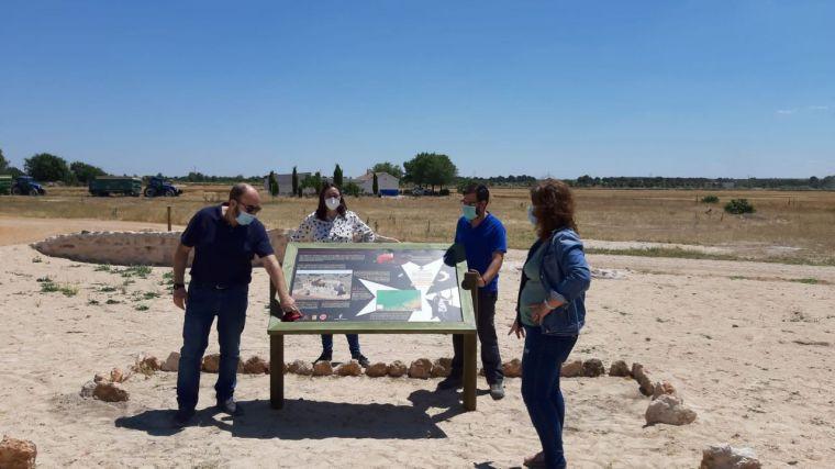 La UCLM concluye la tercera campaña arqueológica de conservación de los muros del castillo de Santa María del Guadiana