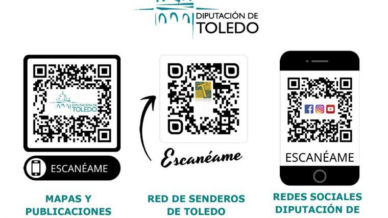 La Diputación de Toledo lanza tres nuevos códigos QR para promocionar el turismo provincial