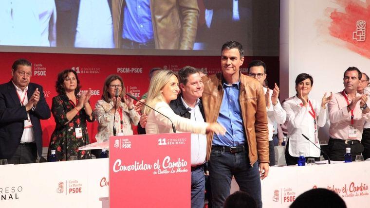 Tolón, Zamora y Dolz, proclamados candidatos del PSOE a las alcaldías de Toledo, Ciudad Real y Cuenca