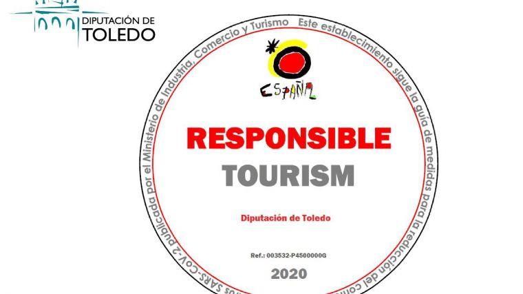 La oficina de turismo de la Diputación de Toledo recibe el sello de turismo responsable del Gobierno de España