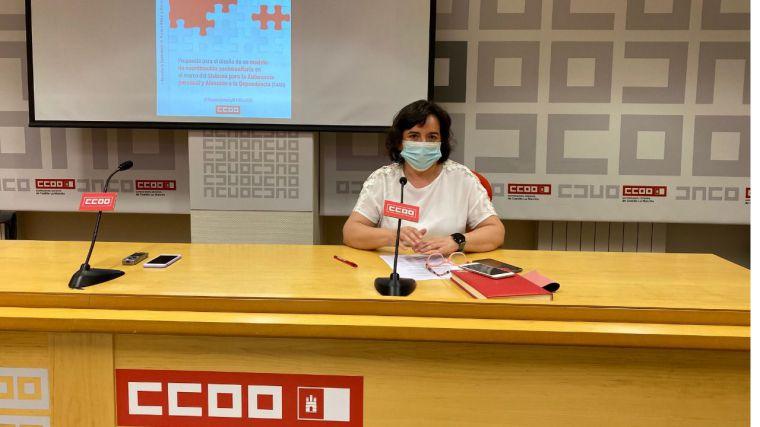 CCOO pide que los 100 millones para residencia de mayores anunciado por la Junta se destinen a personal