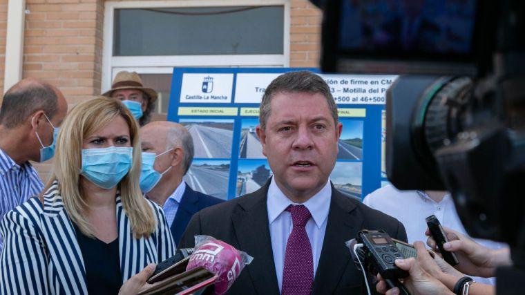"""García-Page urge al Gobierno de España a la convocatoria de una reunión de todos los presidentes autonómicos """"aunque no sea presencial"""""""