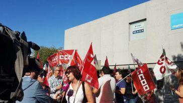 La plantilla de Digitex-Talavera se suma a las movilizaciones contra el ERE planteado por la empresa para ejecutar 451 despidos