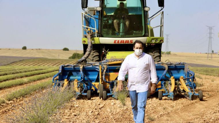 """Núñez considera """"vital"""" que el Gobierno regional ponga en marcha líneas de ayuda directa para el sector del campo"""