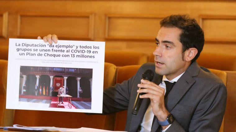 Comendador los criterios de reparto las ayudas a los municipios de la Diputación de Toledo