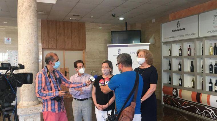 Continúan las catas de los mejores productos agroalimentarios de Castilla-La Mancha con el jamón serrano como protagonista