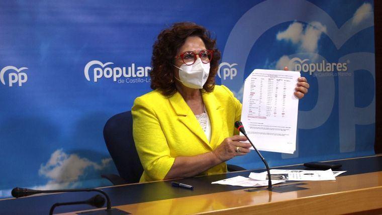 Riolobos (PP) señala a CLM 'como una de las regiones con peor gestión de la pandemia'