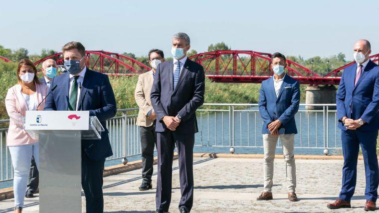 Finzalizadaslas obras de rehabilitación del Puente Reina Sofía de Talavera en el que se ha ivertido 331.400 euros