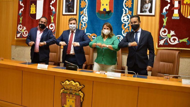 El Gobierno regional firma con los ayuntamientos de Talavera de la Reina, Cazalegas y Pepino un protocolo para el desdoblamiento de la antigua N-V