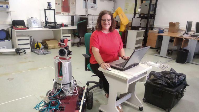 Una exalumna de la UCLM obtiene el premio a la mejor tesis doctoral en visión por computador del Comité Español de Automática