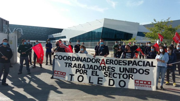 Jornada de lucha del sector aeronáutico para preservar el empleo en una industria estratégica