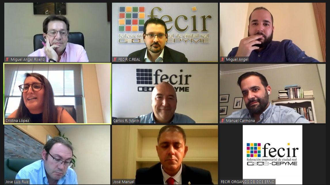 FECIR y parlamentarios nacionales del PSOE abordan el futuro de la provincia de Ciudad Real