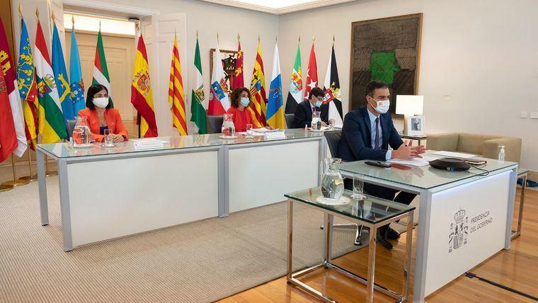 Imagen de la última Conferencia de Presidentes autonómicos, celebrada el pasado mes de septiembre.