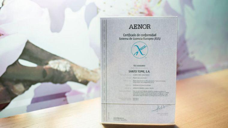 Santo Tomé se convierte en el primer obrador de España en conseguir la Espiga Barrada para su mazapán, Sistema de Licencia Europeo para productos sin Gluten